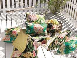<b>PUTER:</b> Nå er det bare å glede seg til sommer. Blir det hjemmeferie i år kan du se frem til fridager på terrassen.