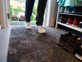 <b>MATTER:</b> Et skikkelig soneforsvar av entrématter trengs for å beskytte gulvet.