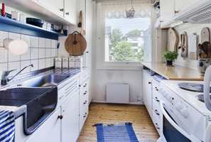 <b>KJØKKENOMVANDLING: </b>Kjøkkenet ble flyttet, interiøret revet og rommet gjort om til soverom. (Foto:Creative Living)