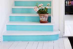 Gjør trappen til et skikkelig blikkfang! (Foto: Beckers)