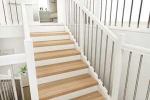 <b>STORT MØBEL:</b> En trapp er et stort møbel, som har mye å si for helheten.