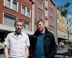 Olav Kristoffersen (t.v.) og Geir Brendeland har møtt stor internasjonal interesse for prosjektet. Nå har de også fått en norsk formgivningspris.