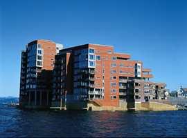 Stavanger Brygge sett fra vest.