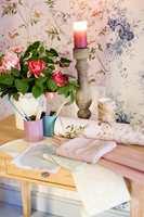 Lunt og landlig: Stilen kjennetegnes av støvete pasteller.