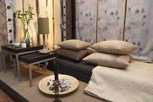 Natur: Funksjonelle møbler, naturfarger og etniske innslag. Her med litt kinesisk inspirasjon. (John O. Borge AS)