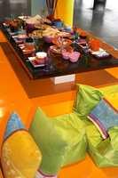 Maksimalisme: Strukket ut i ytterste konsekvens passerer stilen indiske farger og går mot plastikkfarger eller sukkertøyfarger. (Wolff Eksponeringsdesign)