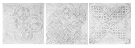 <b>BETONG:</b> Fliser med betonglook kommer enten som ensfargede eller med mønster.