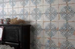 <b>VINTAGE:</b> Fliser i gammel stil er pop. Mønstrene kan være hentet fra franske slott, basarer i Tyrkia, gamle norske bygårder eller marokkanske tradisjoner.