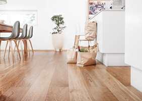 Med god pleie vil gulvet ditt se fint ut lenge.