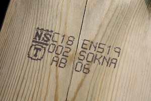Pass på at materialene er merket med det beskyttede NS-merket, som bekrefter at produktet er godkjent av en tredjepart.