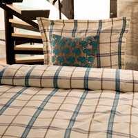 Cairo sengesett i flanell med Ravenna pyntepute