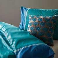 Izmir satengsengetøy i blå og turkis