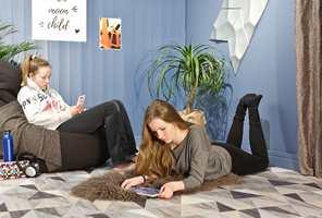 Når jenta går fra barn til tenåring, kommer ønsket om et tøffere rom. Ut med det sukkersøte, og inn med det kule!