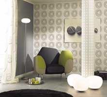 Spennende mønster på en vegg, men kanskje ikke i soverommet<br/><a href='https://www.ifi.no//varens-tekstiler-sterke-farger-og-store-monstre'>Klikk her for å åpne artikkelen: Vårens tekstiler: - Sterke farger og store mønstre</a>