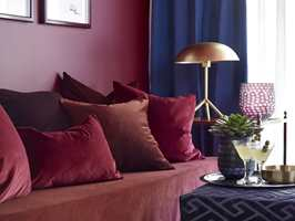 <b>MANGE NYANSER:</b> Rødt kommer i mange nyanser, noe for en hver smak. (Foto: Per Erik Jæger/Fargerike, Stylist: Siv Brenne)