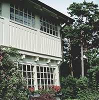 Beliggenhet og vegetasjon har stor betydning for slitasjen på malingen.