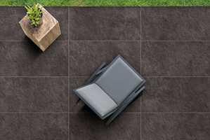 <b>FLIS:</b> Legger du «Porcellanato»-fliser ute, har du et gulv som tåler alt hva norsk vær kan by på.
