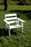 Den er undersøkt: Her er en stol som kan tåle flere sesonger.