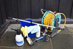 <b>VASK:</b> Ha utstyret klart og ta vaskingen på mandag. (Foto: Mari Andersen Rosenberg/ifi.no)
