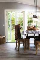 <b>GRUNNSTEIN:</b> Gulvet er selve grunnsteinen i hjemmet.