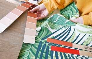 <b>HELHET:</b> Det er viktig å vurdere farger, tapet og tekstiler mot gulvet.