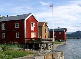 <b>VELG RIKTIG:</b> Tradisjonelle rød- og gulfarger vil fremstå mer dempet med matt behandling. (Foto: Bjørg Owren/ifi.no)