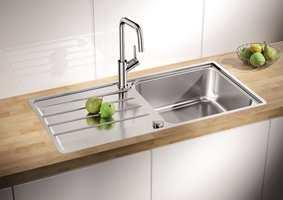 <b>VIKTIG VALG:</b> En vask er ikke bare en vask. Det er viktig å tenke på hva du skal bruke den til. Dette er Blanco Lemis XL 6S-IF fra Nibu/Rørkjøp i rustfritt stål.