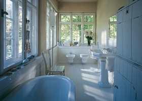 toalett i 1930 serien, retro stil