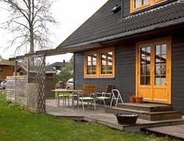 Farger kan bestemme om husets detaljer skal fremheves eller kamufleres. Foto: Frode Larsen/ifi.no