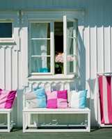 Med hurtigtørkende maling kan et nymalt vindu lukkes om kvelden.