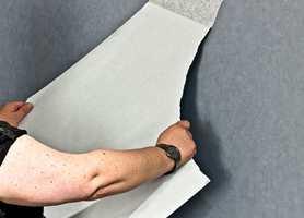 <B>LETT Å FORANDRE: </B>Tapetserte vegger kan både males og tapetseres igjen ved en senere oppussing.