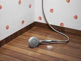 Våtromsbelegg er flotte gulv til badet, både på grunn av komfort, utseende og fukthensyn.