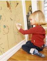 Whiteboardmaling fra Inspirasjon Interiør.