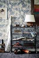 Designet Willow er dramatisk og elegant, virvlende og upolert.