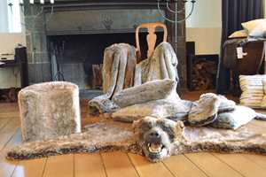 Hvorfor bruke ekte pels når det finnes fuskepels som dette? «Winter Home Collection» fra INTAG har svært god kvalitet.